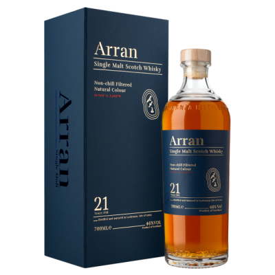 Arran 21 Year Old - 46% 70cl
