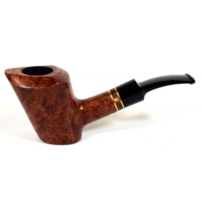 Adams Artisan By Ardor Self-Standing Semi-Bent Freehand 9mm Filter Swallowtail Pipe (ART143)