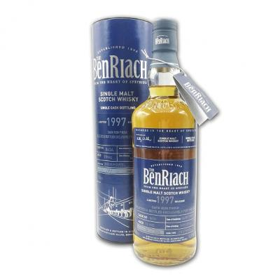 BenRiach 19 Year Old 1997 Cask #8634 - 50.8% 70cl