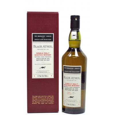 Blair Athol 1995 Managers Choice - 54.7% 70cl - LIMITED EDITION 156/570
