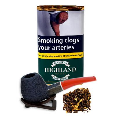 Blenders Highland RR Mixture (Ready Rubbed) Pipe Tobacco 40g Pouch