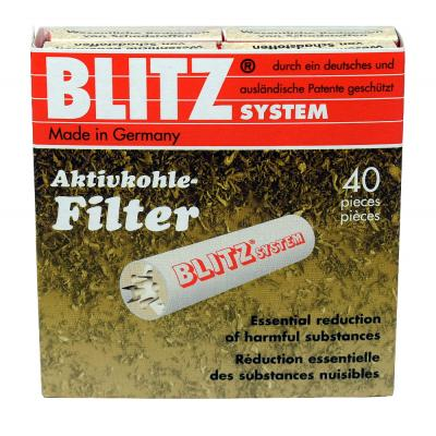 Blitz System 9mm Pipe Filters (Pack of 40)