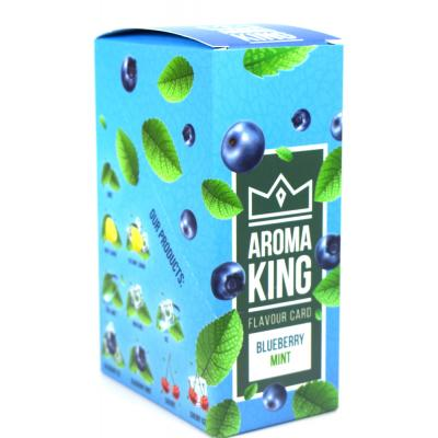 Aroma King Flavour Card -  Blueberry Mint - Box of 25