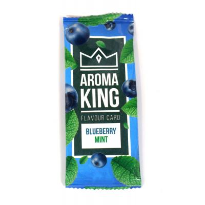 Aroma King Flavour Card -  Blueberry Mint - 1 Single
