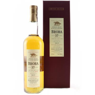 Brora 37 Year Old - 2015 Special Release - 50.4% 70cl - LIMITED EDITION 473/2976