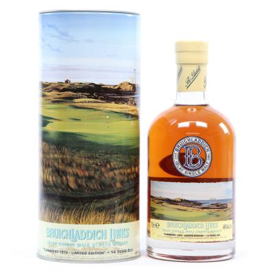 Bruichladdich 14 Year Old Turnberry 10th Hole - 46% 70cl