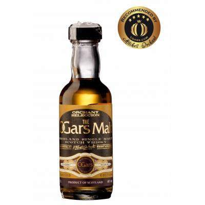 C.Gars Malt Orchant Selection Cigar Malt Miniature - 5cl 40%