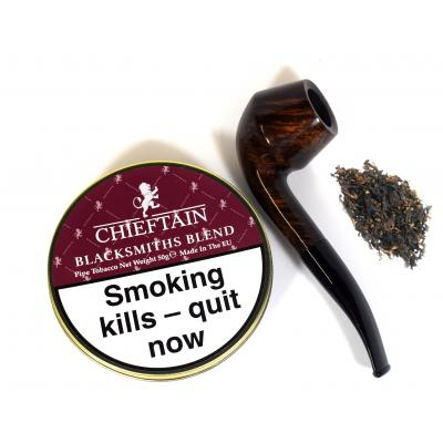 Chieftain Blacksmiths Blend Pipe Tobacco 50g Tin