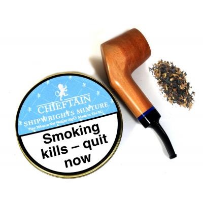 Chieftain Shipwrights Mixture Pipe Tobacco 50g Tin