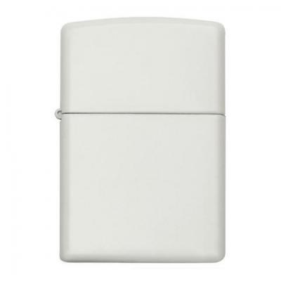 Zippo - White Matte Regular - Windproof Lighter