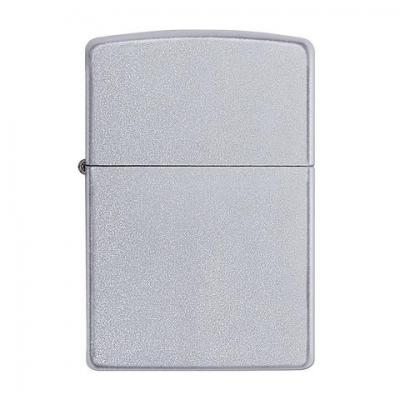 Zippo - Satin Chrome Regular - Windproof Lighter