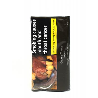 Cutters Choice Hand Rolling Tobacco 30g Pouch