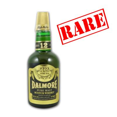 Dalmore 12 Year Old 1970s Whisky - 40% 75cl