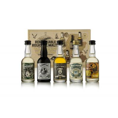 Douglas Laing Remarkable Regional Malts Gift Pack - 5x5cl