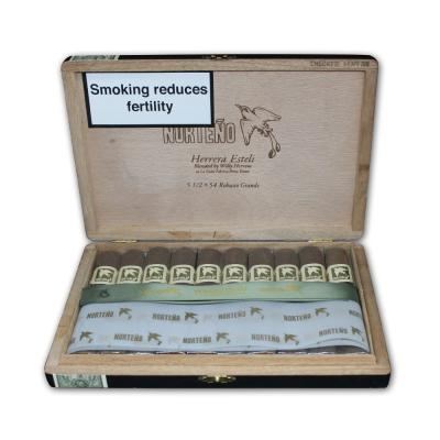 Drew Estate Herrera Esteli Norteno Robusto Grande Cigar - Box of 10