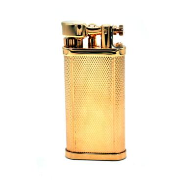 Dunhill - Unique Pocket Lighter - Barley Gold Plated