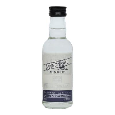 Edinburgh Cannonball Gin Miniature - 5cl 57.2%
