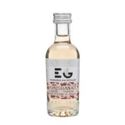 Edinburgh Gin Pomegranate & Rose Gin Liqueur Miniature - 5cl 20%