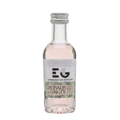 Edinburgh Gin Rhubarb & Ginger Liqueur Miniature - 5cl 20%