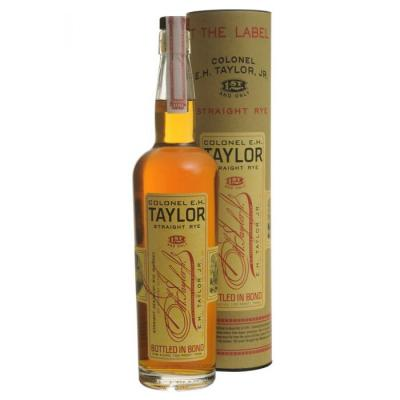 E.H. Taylor Straight Rye Whiskey - 50% 75cl