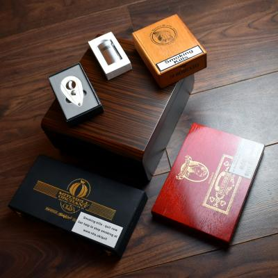 Everything You Need New World Compendium - Adorini Humidor, Xikar Cutter and Cigars