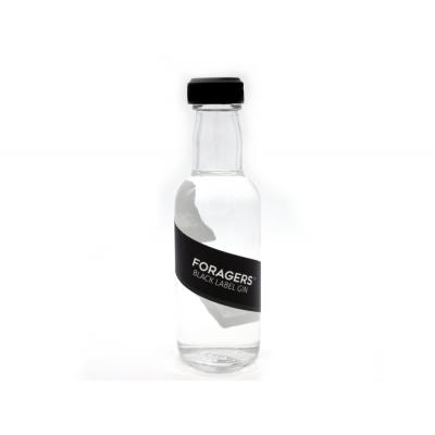 Foragers Black Label Gin Miniature - 46% 5cl