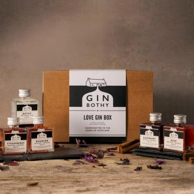 Gin Bothy Love Gin Box 5x5cl Pack