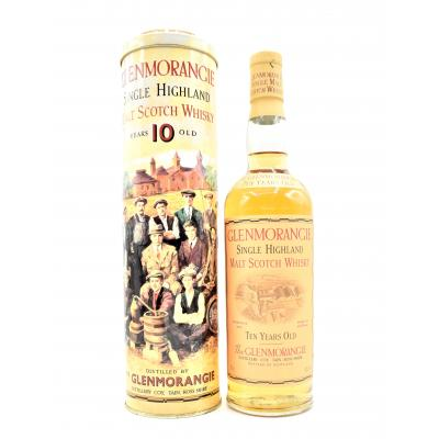 Glenmorangie 10 Year Old Main of Tain Whisky in Presentation Tin - 70cl 40%