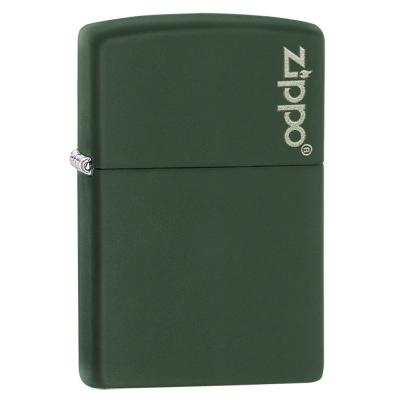 Zippo - Classic Green Matte With Logo - Windproof Lighter