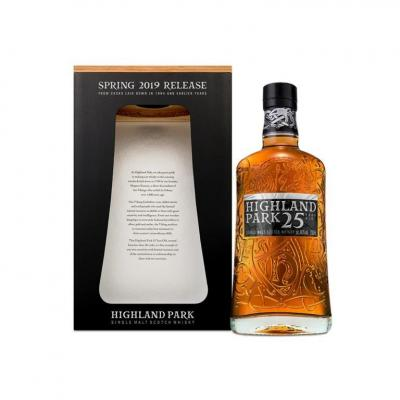 Highland Park 25 year old Spring 2019 Release -  46% 70cl