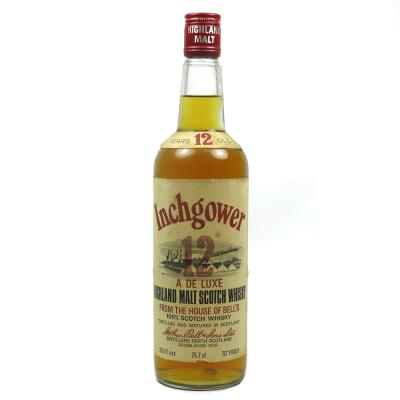 Inchgower 12 Year Old Deluxe Malt Scotch Whisky - 43% 75cl