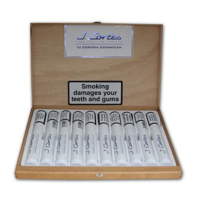J. Cortes High Class Dominican Cigar - White - Box of 10