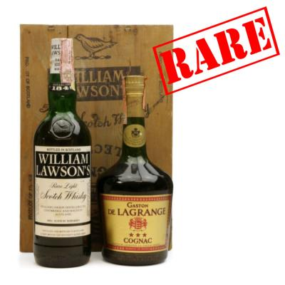 William Lawson Rare Light Scotch & Gaston de Lagrange Cognac Set - 2x75cl 40%