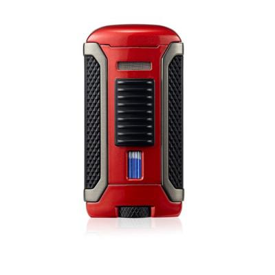 Colibri Apex - Single Jet Flame Lighter - Metallic Red