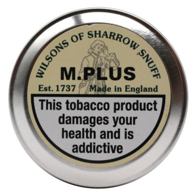 Wilsons of Sharrow - M.Plus Snuff - Small Tin - 5g