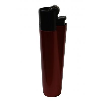 Clipper Metal Flint Metal Red Night Lighter