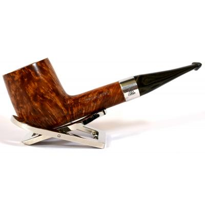 Northern Briars Bruyere Premier G4 Dublin Silver Mounted 9mm Filter Fishtail Pipe (NB30)