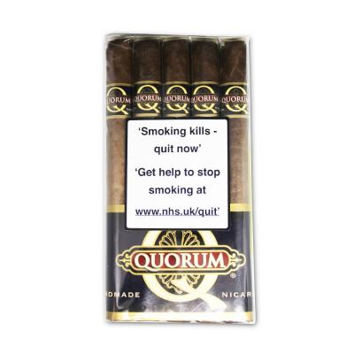 Quorum Maduro Churchill Cigar - Bundle of 10