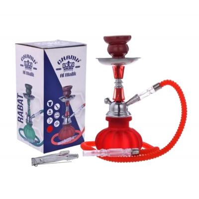 Champ Al Malik Rabat Shisha Pipe - Red