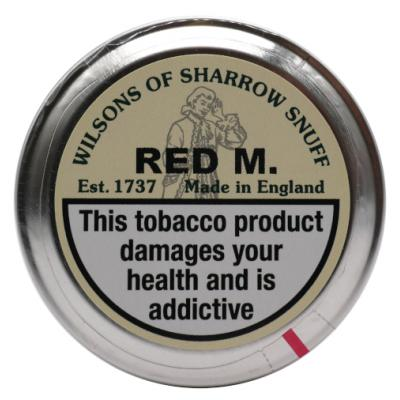 Wilsons of Sharrow Snuff - Red M - Large Tin - 20g