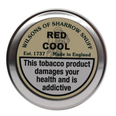 Wilsons of Sharrow Snuff - Red Cool - Large Tin - 20g (END OF LINE)