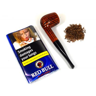 Red Bull Blue Label Pipe Tobacco 12.5g Pouch
