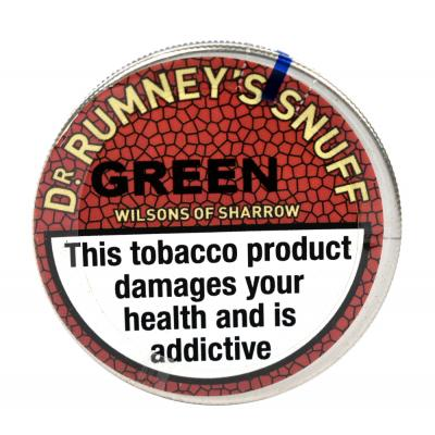 Dr. Rumney's Green Snuff - Small Tap Tin - 5g