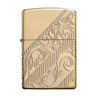 Zippo - Armor Gold Plated Scroll 2018 Collectible of the Year - Windproof Lighter
