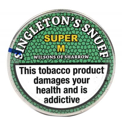 Singletons Snuff - Small Tap Tin - 5g