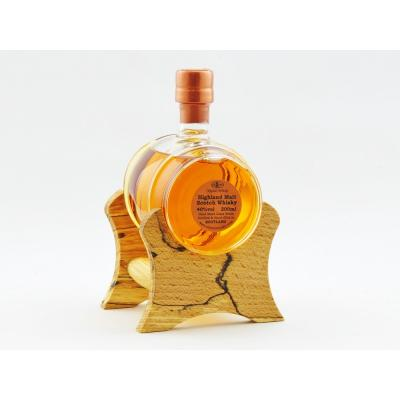 Small Barrel of Highland Malt with Oak Stand 20cl (Stylish Whisky)  40% - CHRISTMAS GIFT