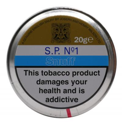 J & H Wilson – Sp No 1 Snuff - Large Tin - 20g