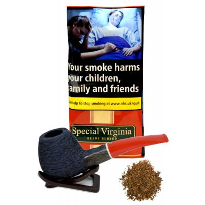 Special Virginia Ready Rubbed Pipe Tobacco 50g Pouch