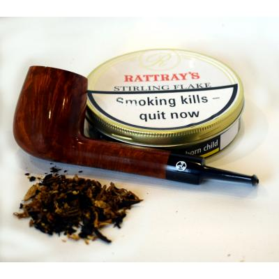 Rattrays Stirling Flake Pipe Tobacco 50g Tin