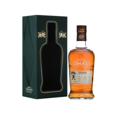 Tomatin 12 Year Old 2006 French Oak Finish Whisky - 70cl 46%